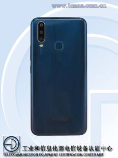 Two VIVO phones codenamed V1901A and V9101T spotted at TENAA