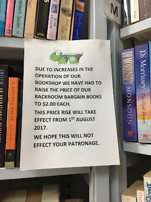 Book Store Price Rise Woes!