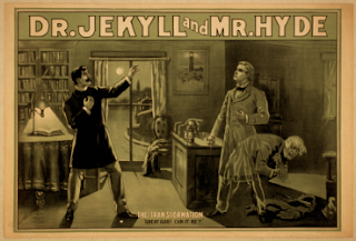Dr. Jekyll y Mr. Hyde - afiche original