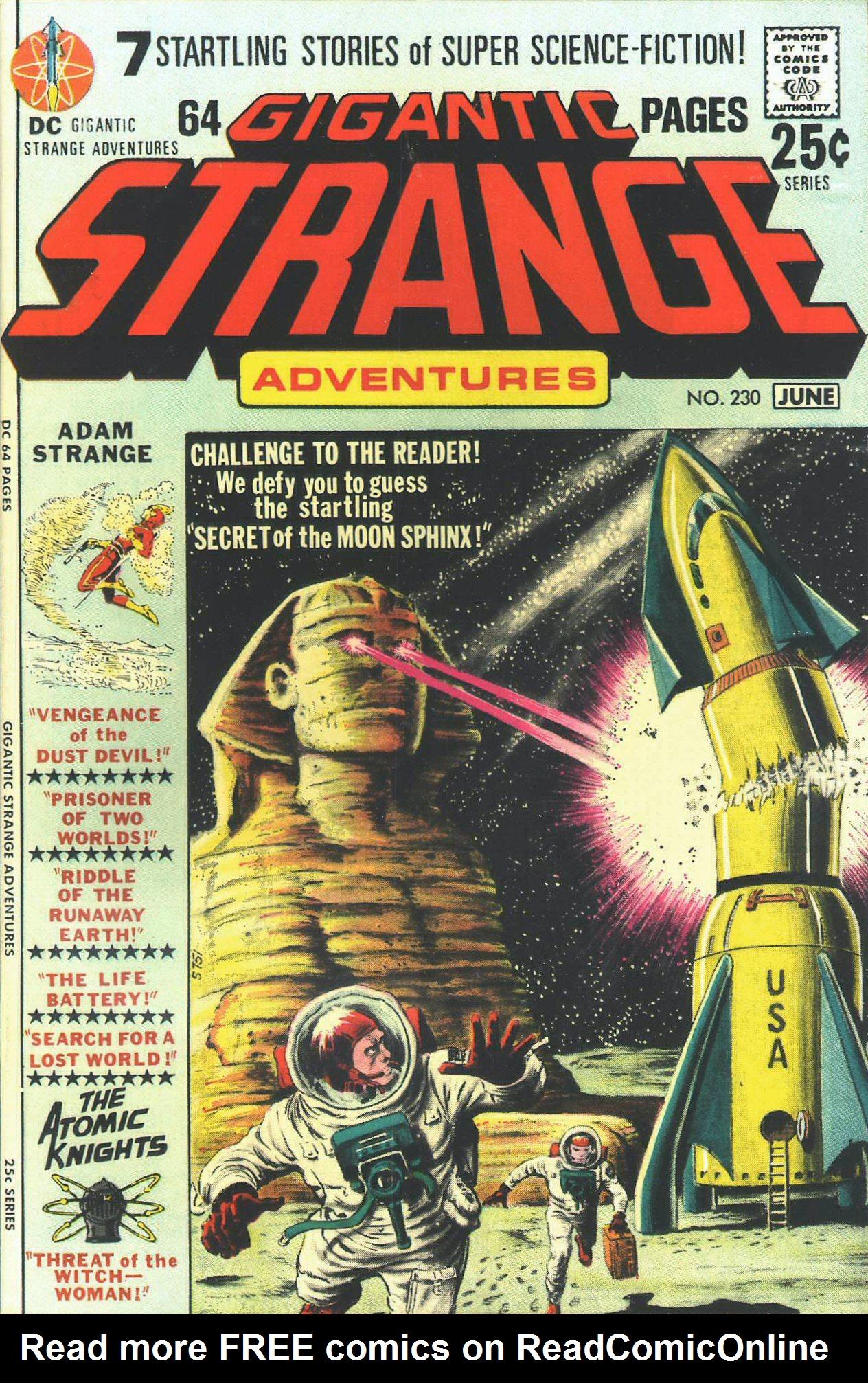 Strange Adventures (1950) issue 230 - Page 1