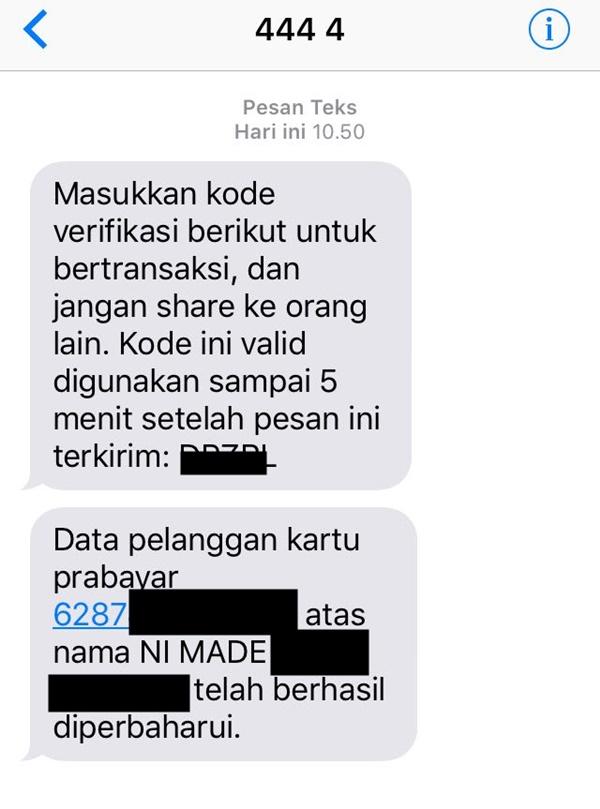 Cara Registrasi Ulang Kartu XL Prabayar  akriko.com