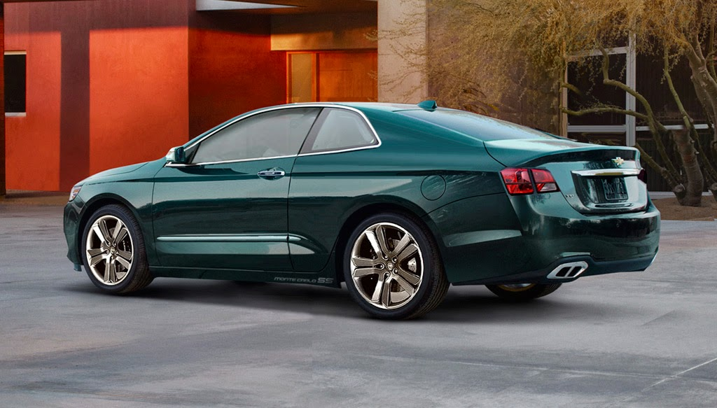 2018 Chevrolet Monte Carlo Officially Unveiled New