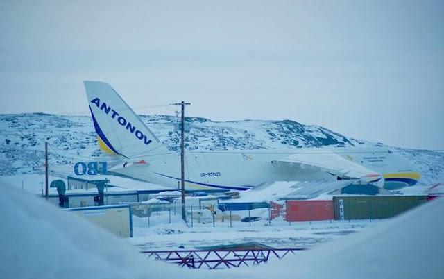 Руслан Ан-124 в Арктиці