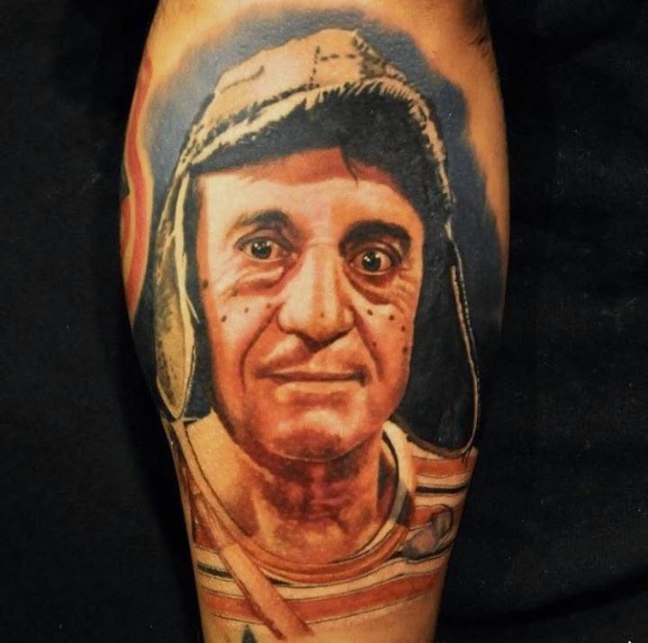 Tatuaje de El Chavo del 8