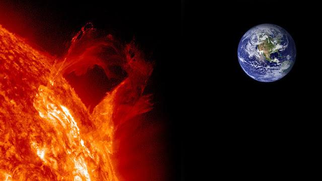 La Tierra, a merced de una mortífera superllamarada solar