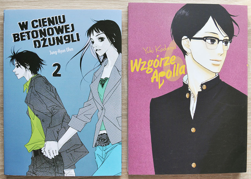 Forest of Gray City manhwa Sakamichi no Apollon