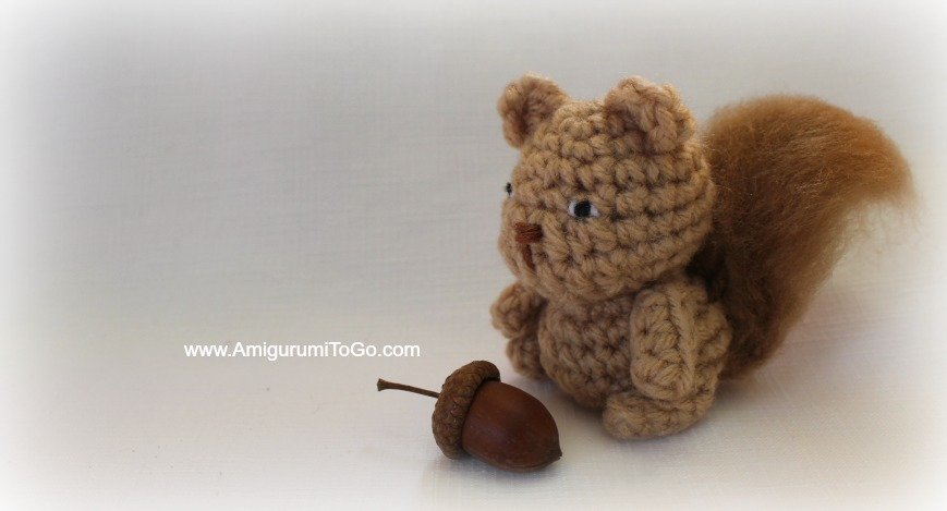 Amigurumi To Go Coraline : Ace the tiny squirrel amigurumi to go