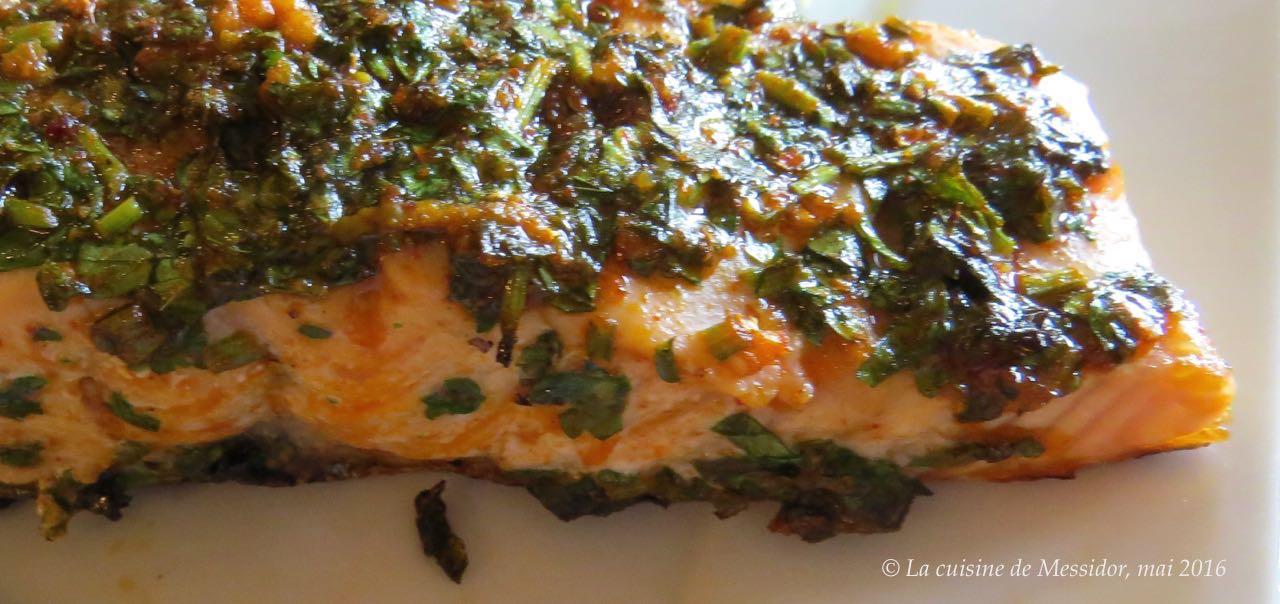 La cuisine de messidor pav s de saumon bbq la marocaine for Saumon en papillote au barbecue