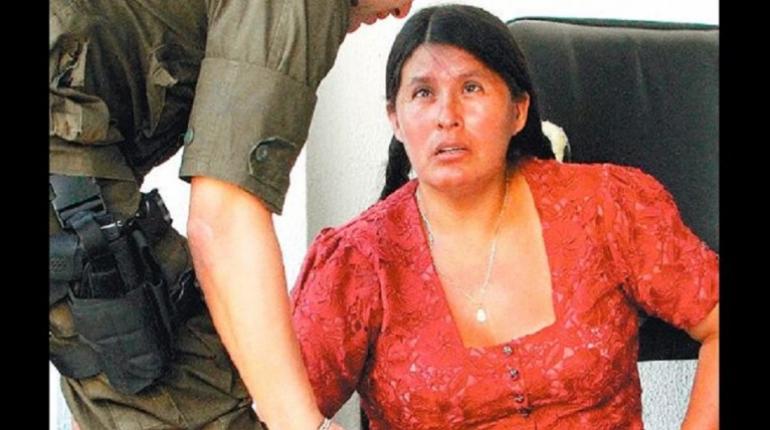 Arias fue encontrada el 7 de septiembre con 10 kilos de cocaína en forma de ladrillos