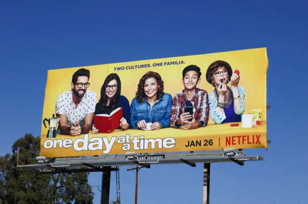 One Day At A Time season 2 billboard