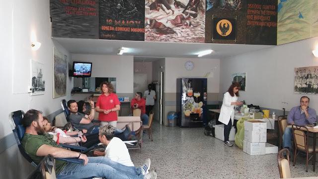 """Την """"1η εθελοντική αιμοδοσία απογόνων προσφύγων"""" διοργάνωσαν οι Πόντιοι της Ξάνθης"""