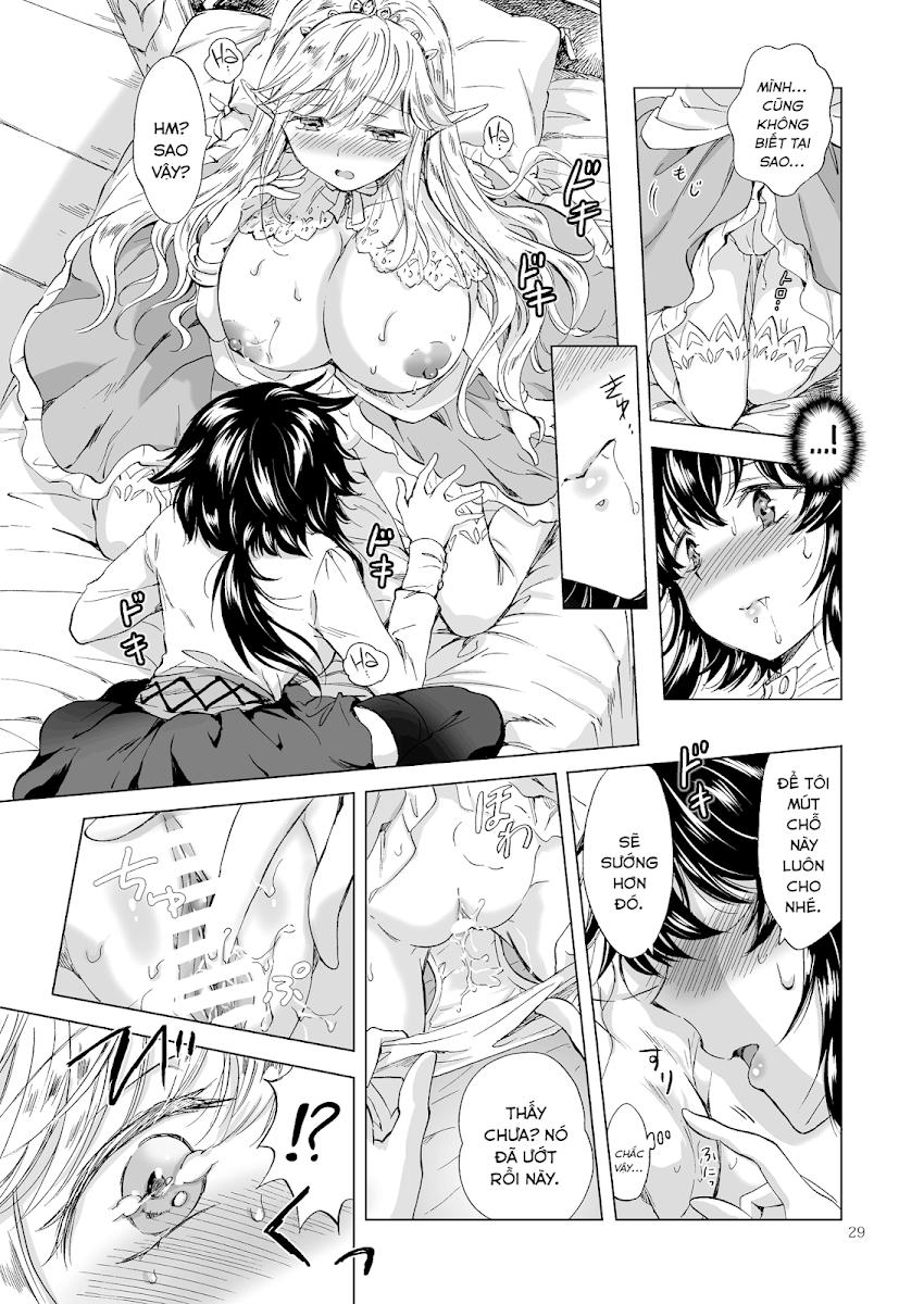 HentaiVN.net - Ảnh 30 - Tuyển tập Yuri Oneshot - Chap 126: Seinaru Chichi no Elf Hime