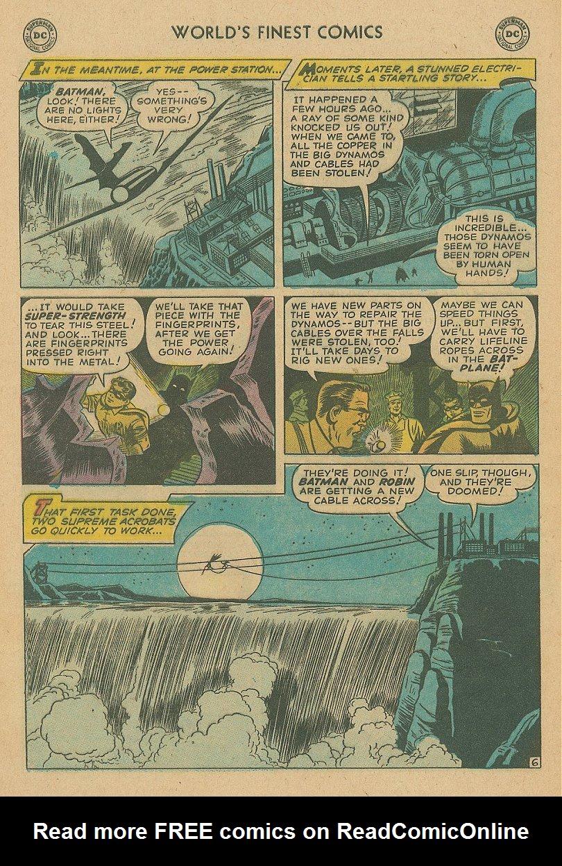 Read online World's Finest Comics comic -  Issue #92 - 21