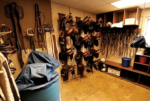 beautiful tack room ideas