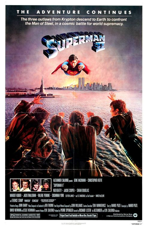 Superman II movie poster