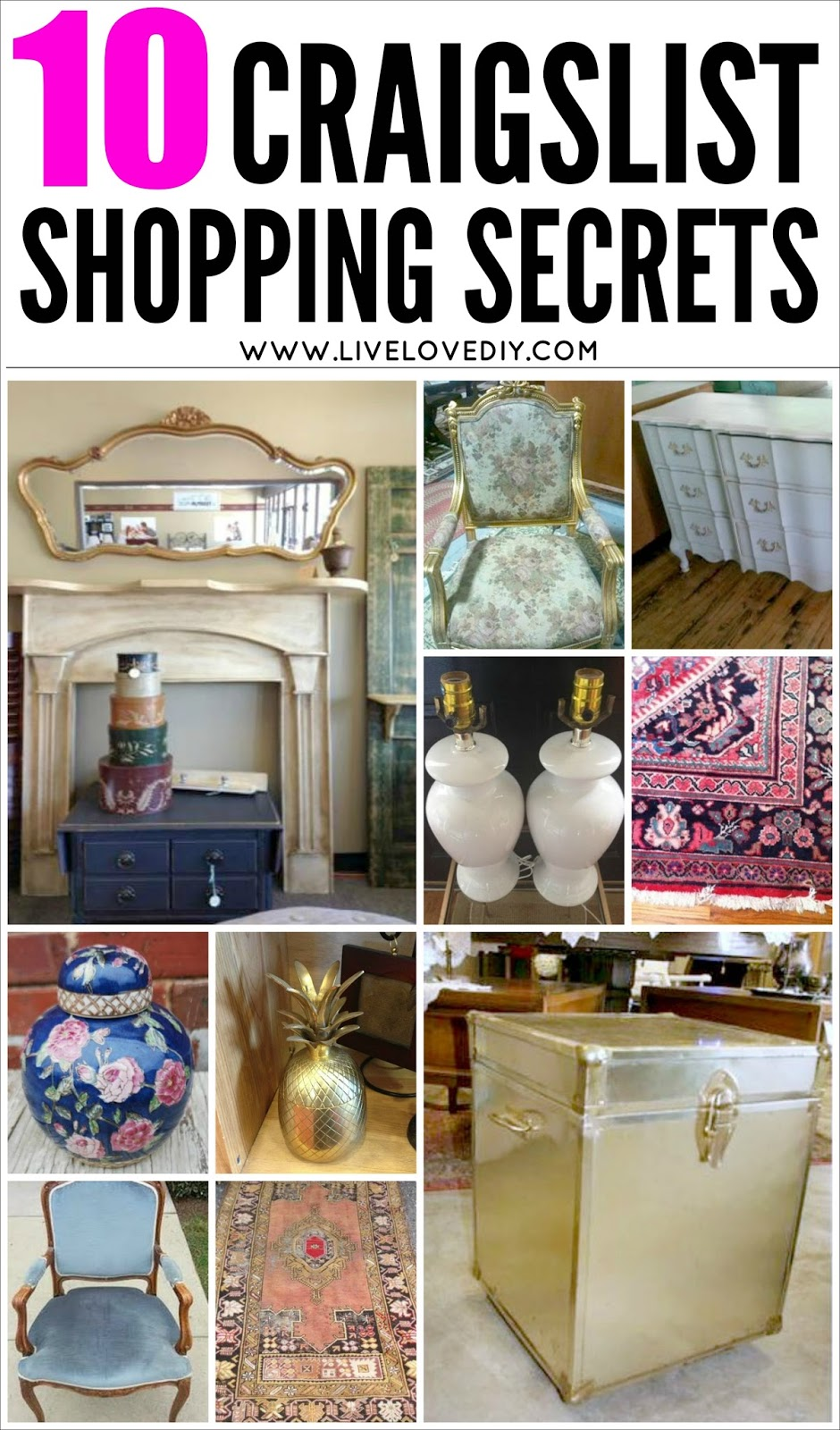 LiveLoveDIY: 10 Secrets for Buying The Best Furniture on Craigslist