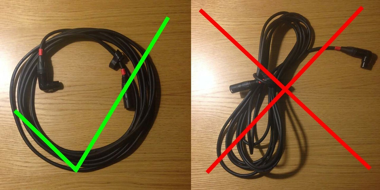 cara-menggulung-kabel-earphone