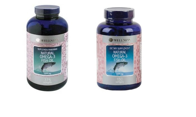 Wellness Natural Omega-3 Fish Oil  1000mg