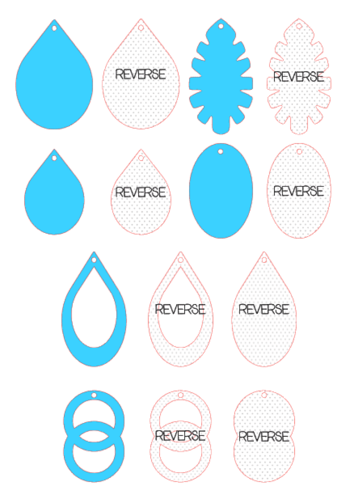 Download Fields Of Heather: Free svgs for Faux Leather Earrings