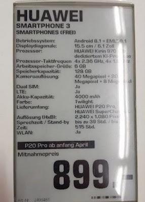 huawei-P20-Pro-price