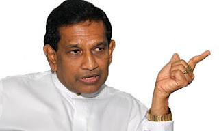 Minister Rajitha Senaratne accused Sports Minister Dayasiri Jayasekara
