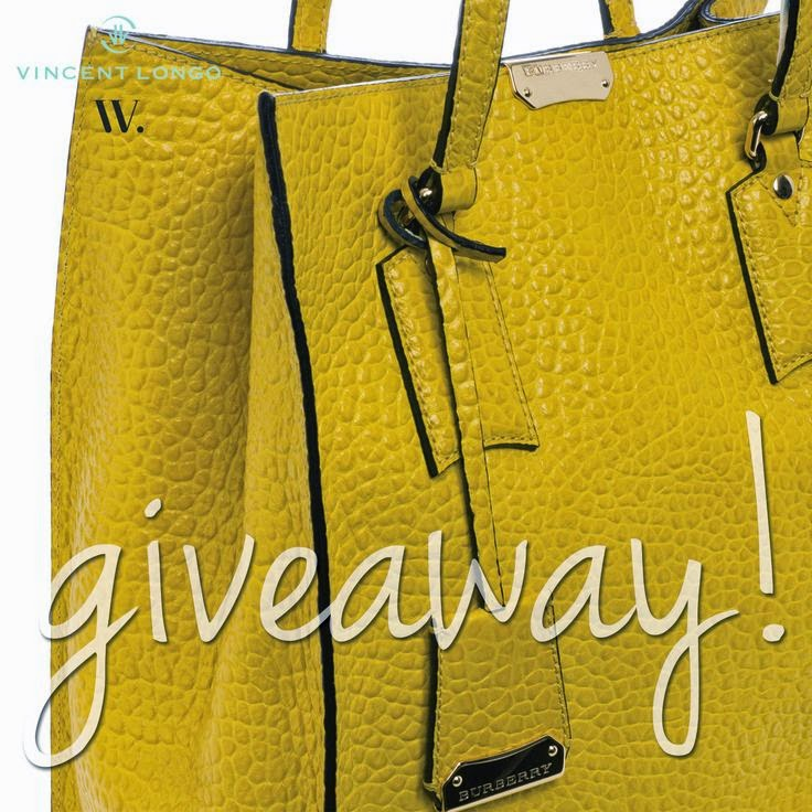 Burberry Tote Giveaway