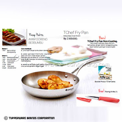 TChef Fyr Pan Promo Tupperware April 2016