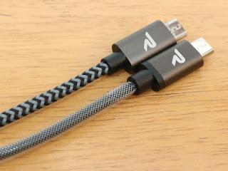 rampow micro USB ケーブル JPRAMPOWMIC01 JPRAMPOWMIC07