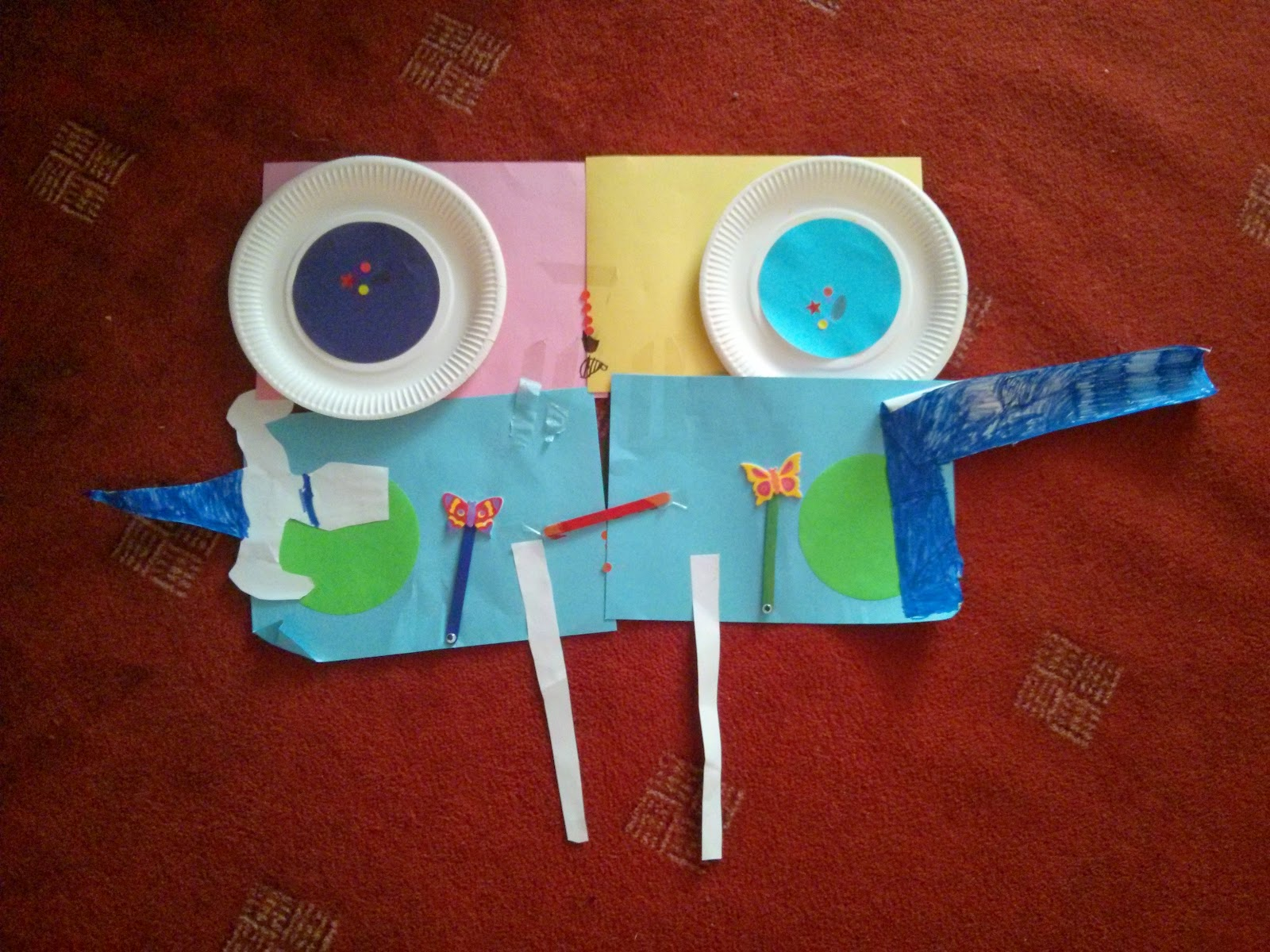 Big Boy's Paper Monster - Grrrrrrrrrrr!