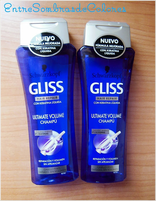 champú Gliss Ultimate Volume Schwarzkopf