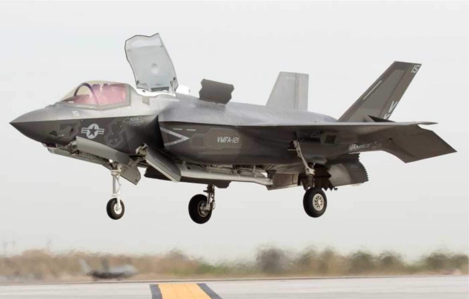 AS mempersiapkan serangan terhadap teroris di Afghanistan menggunakan F-35