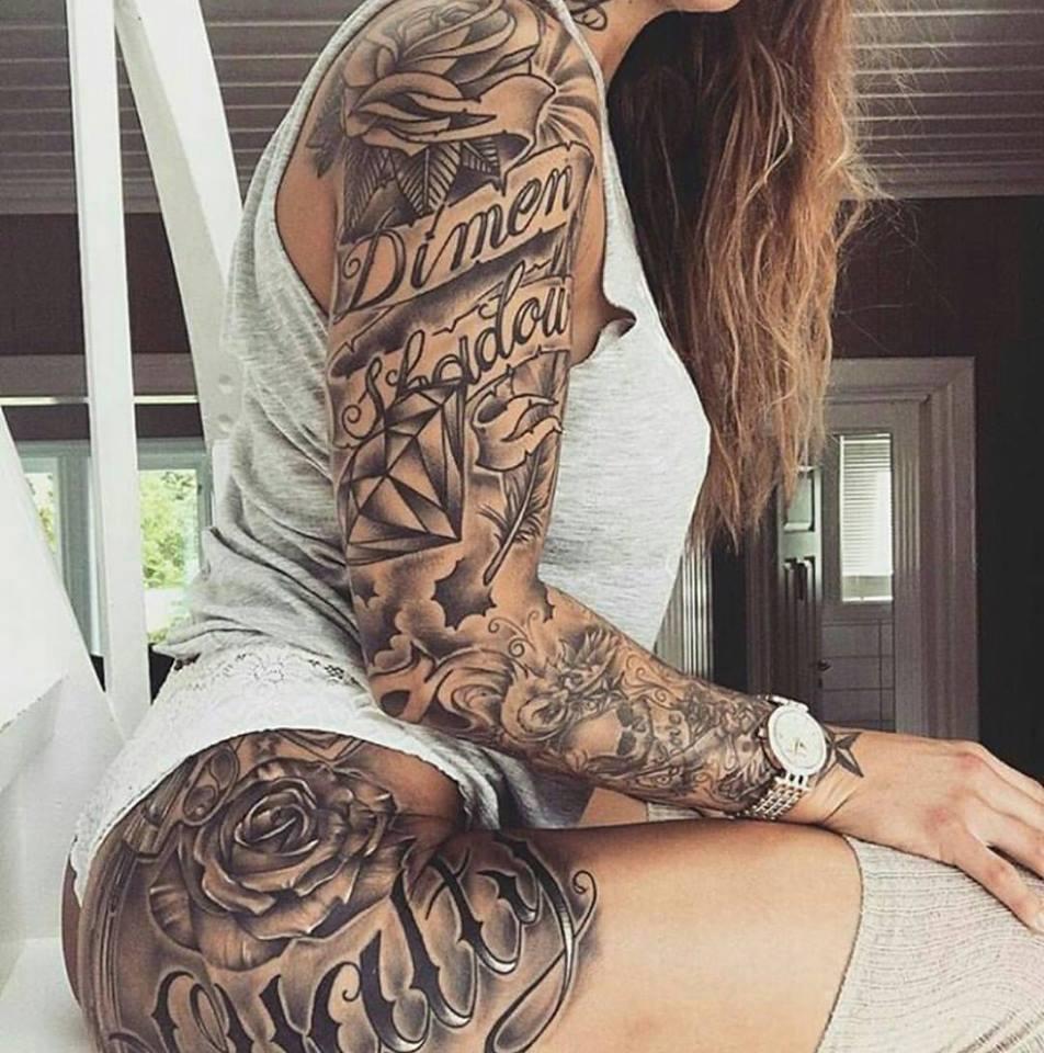 Best 25 Knee Tattoo Ideas Only On Pinterest: รวมแบบลายสักแขน โดนใจ ที่ใครๆ ก็ต้องอยากลอง