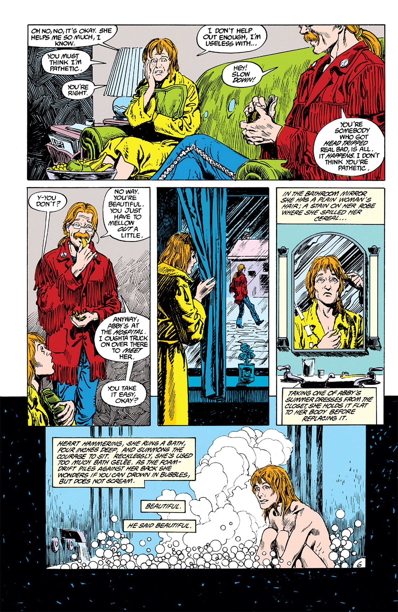 Swamp Thing (1982) Issue #63 #71 - English 6