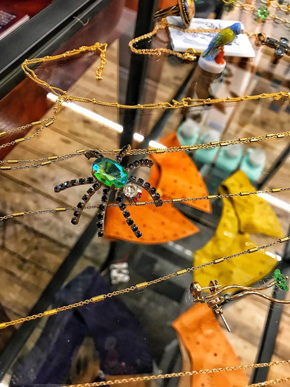 Jewel spider broach BIJ Priester The Hague Netherlands