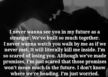 i m scared to lose you quotes
