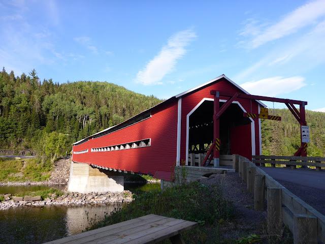 pont couvert de Routhierville Québec