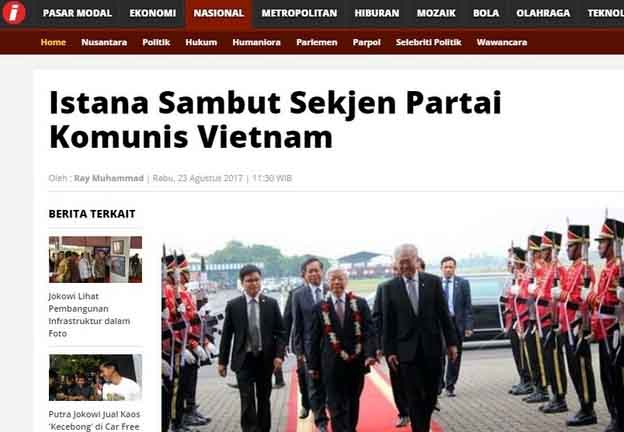Yang Ingatkan Bahaya Komunis Dipidana, Penganut Komunis Sengaja Dijamu Istana