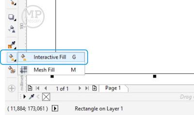 Pilih Interactive Fill Tool