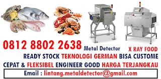 Seafood Metal Detector Indonesia