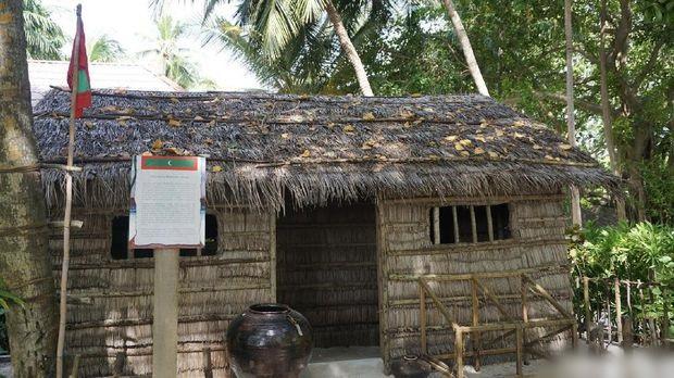 Rumah penduduk asli Maldives