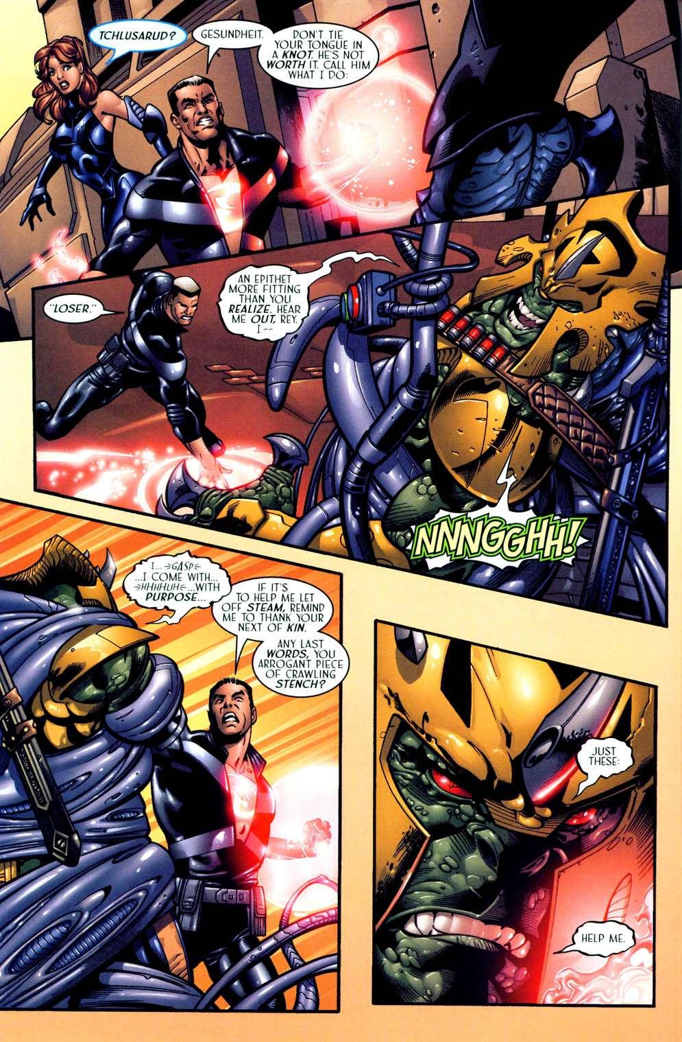 Read online Sigil (2000) comic -  Issue #13 - 6