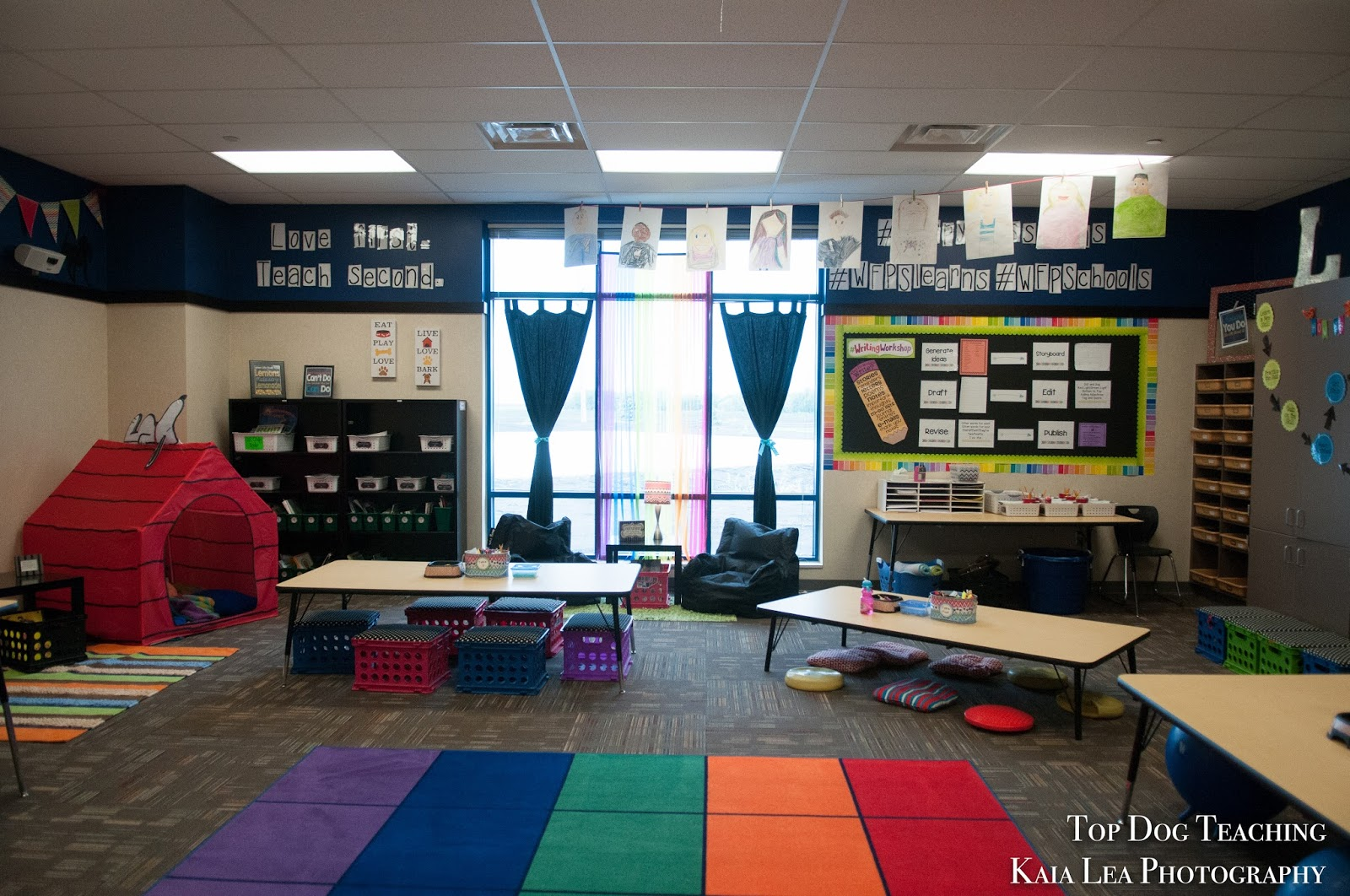List Of Classroom Furnitures : Top dog teaching classroom design inspiration