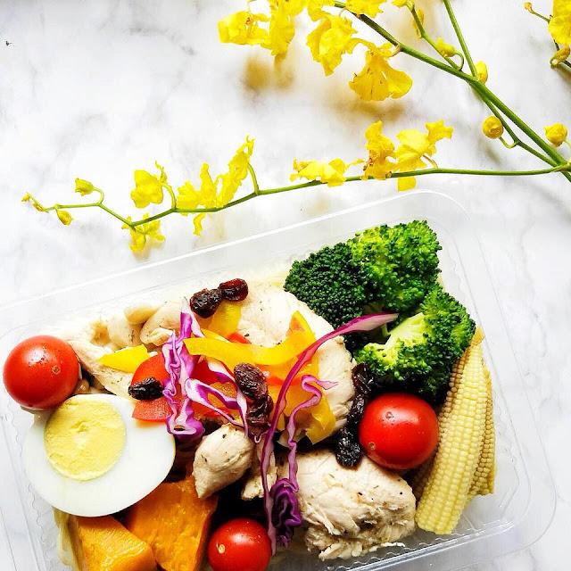 高雄慢食。三多商圈清爽系健康餐盒