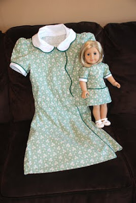 Kit kittredge American girl  birthday dress