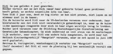 Didi de Vries - Moeder spant samen met Jeugdzorg