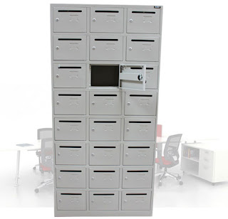 Cabinet kotak surat