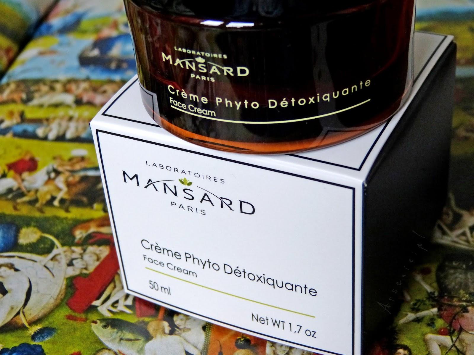Mansard Crème Phyto Détoxiquante
