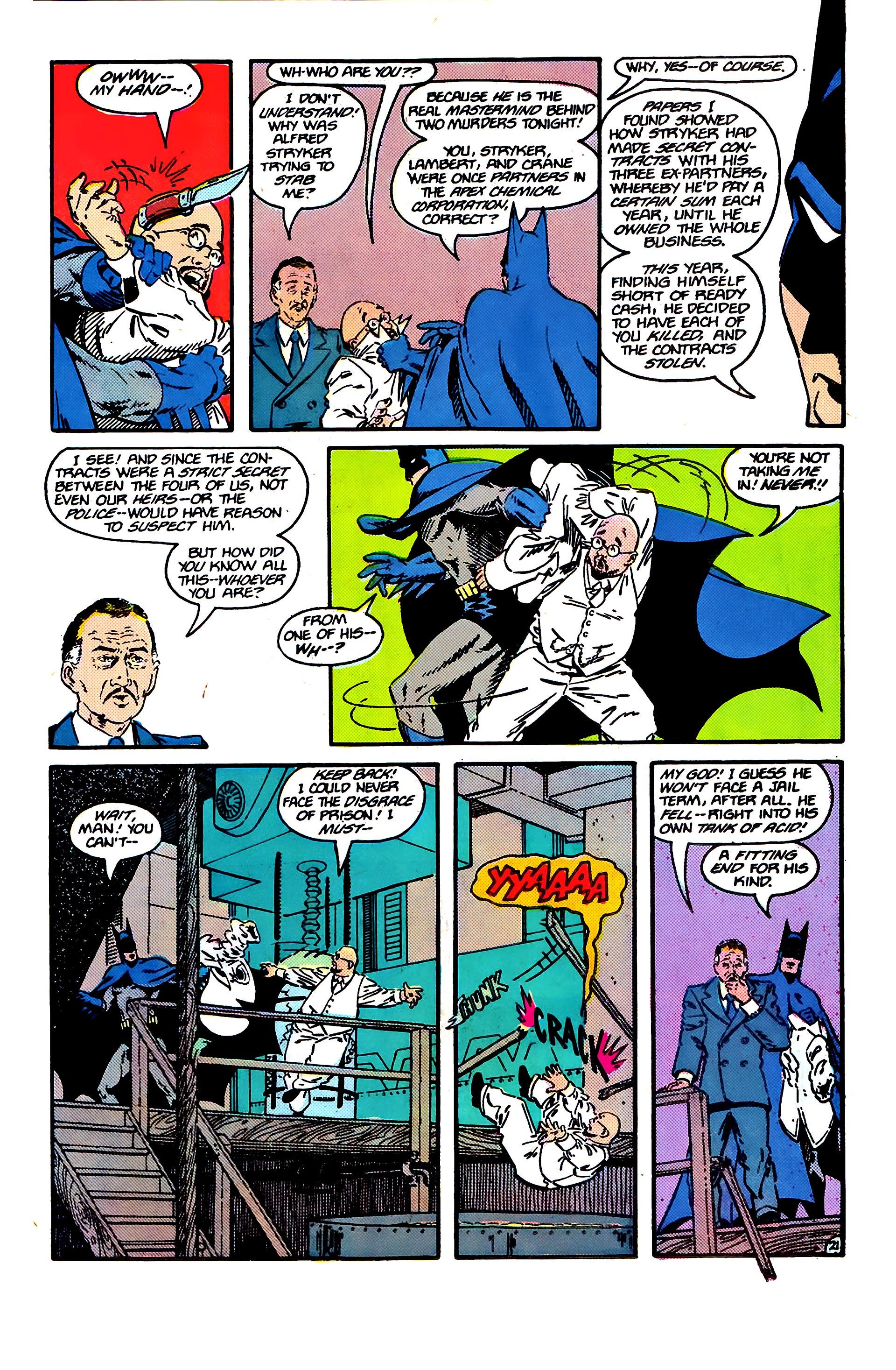 Read online Secret Origins (1986) comic -  Issue #6 - 23