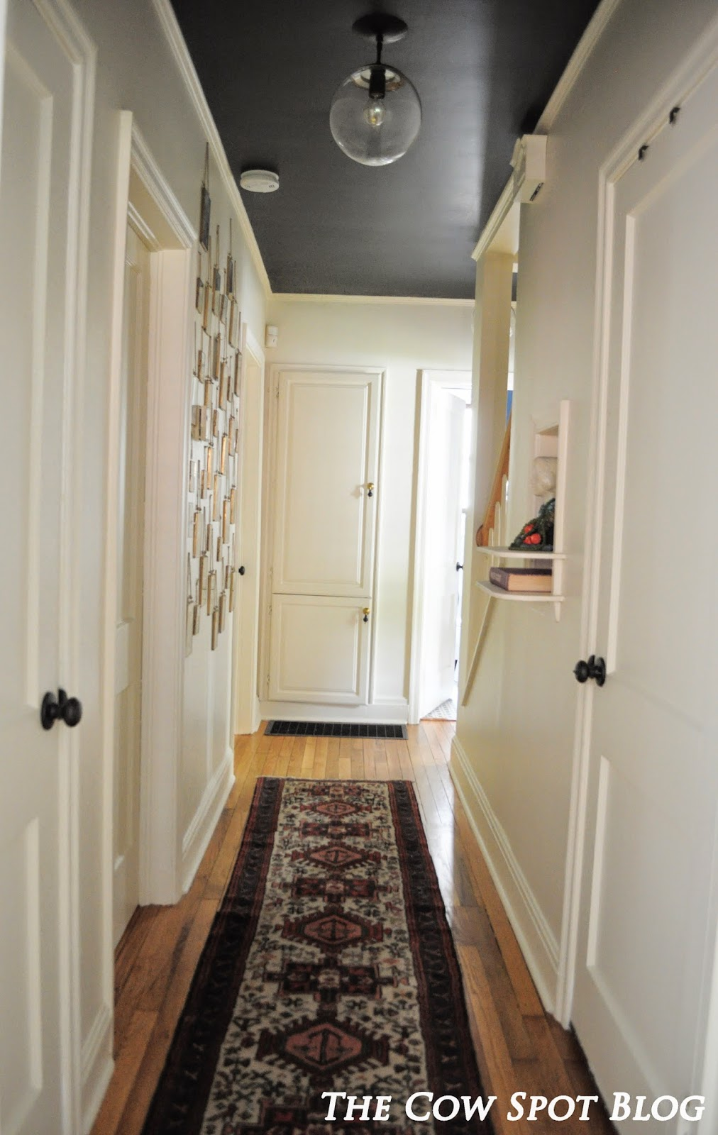 The Cow Spot Hallway Makeover