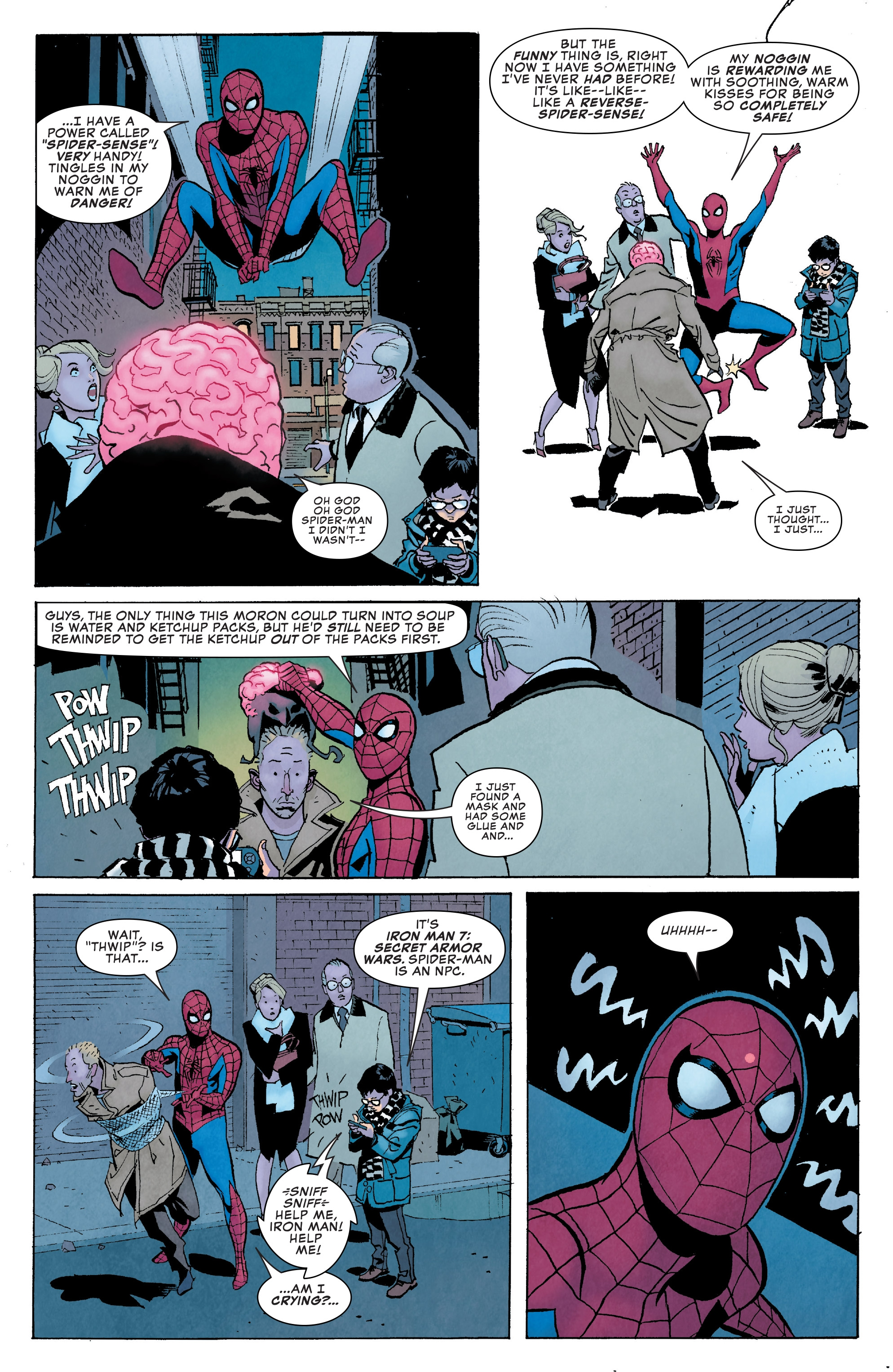 Read online Peter Parker: The Spectacular Spider-Man comic -  Issue #1 - 21